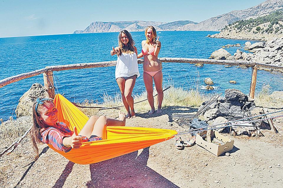 Гамак, костер и лучшее в мире море. Что еще надо для того, чтобы лето в Крыму удалось?!