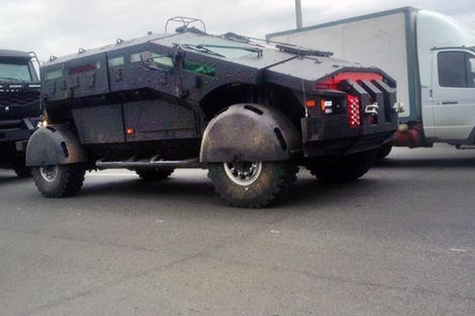 Бронеавтомобиль с именем кельтского меча будут использовать в боях с террористами