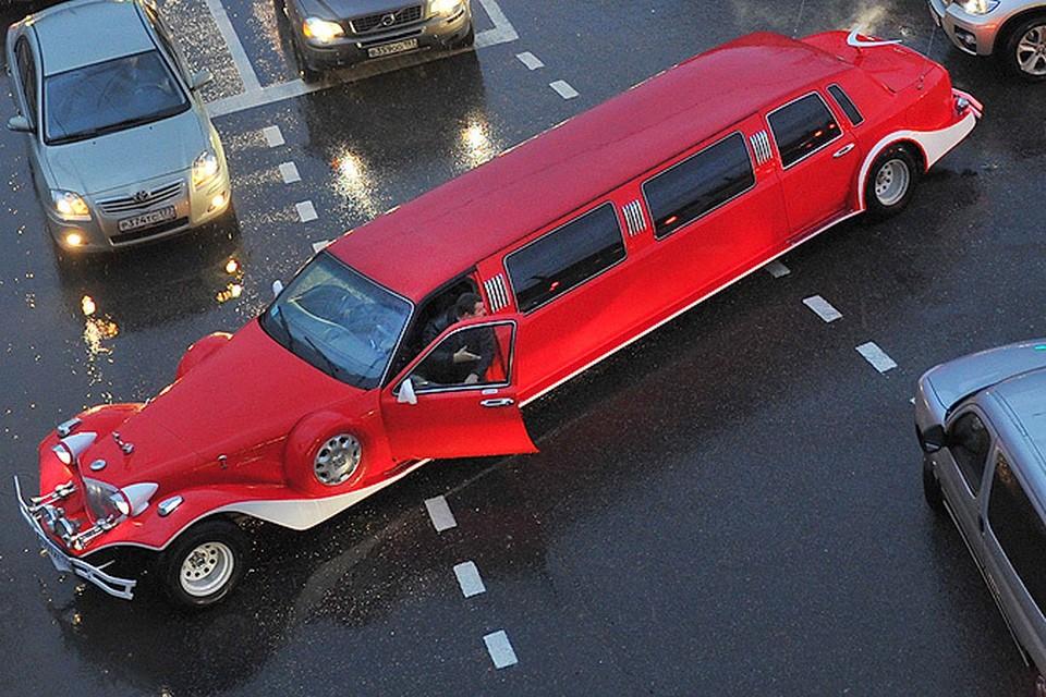 В ГАИ запретили некоторым видам лимузинов передвигаться по столице.