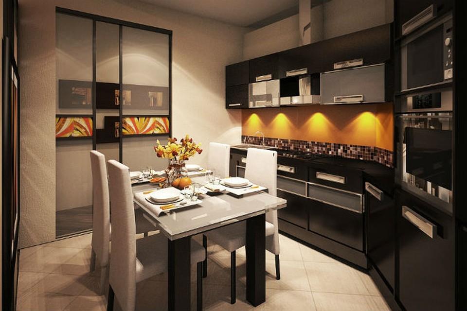 Поробовать отойти от «заезженных» вариантов отделки кухонного фартука – вовсе не означает поступиться своей зоной комфорта.