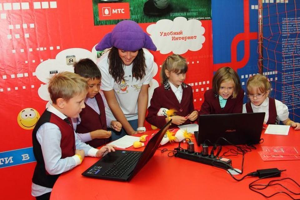 Новая выставка в Новосибирске научит детей безопасности в Интернете. Фото: предоставлено МТС.