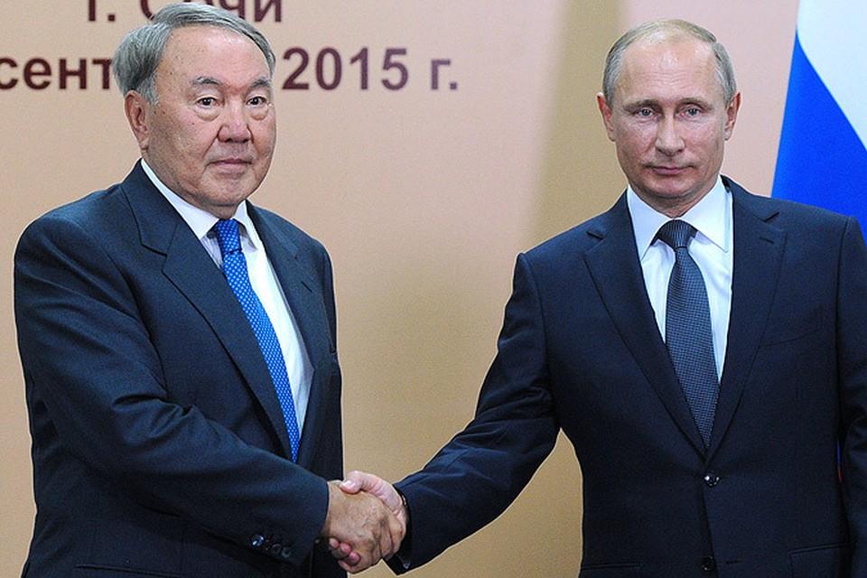 В Сочи президенты России и Казахстана обсуждали, как накормить всех собственными продуктами