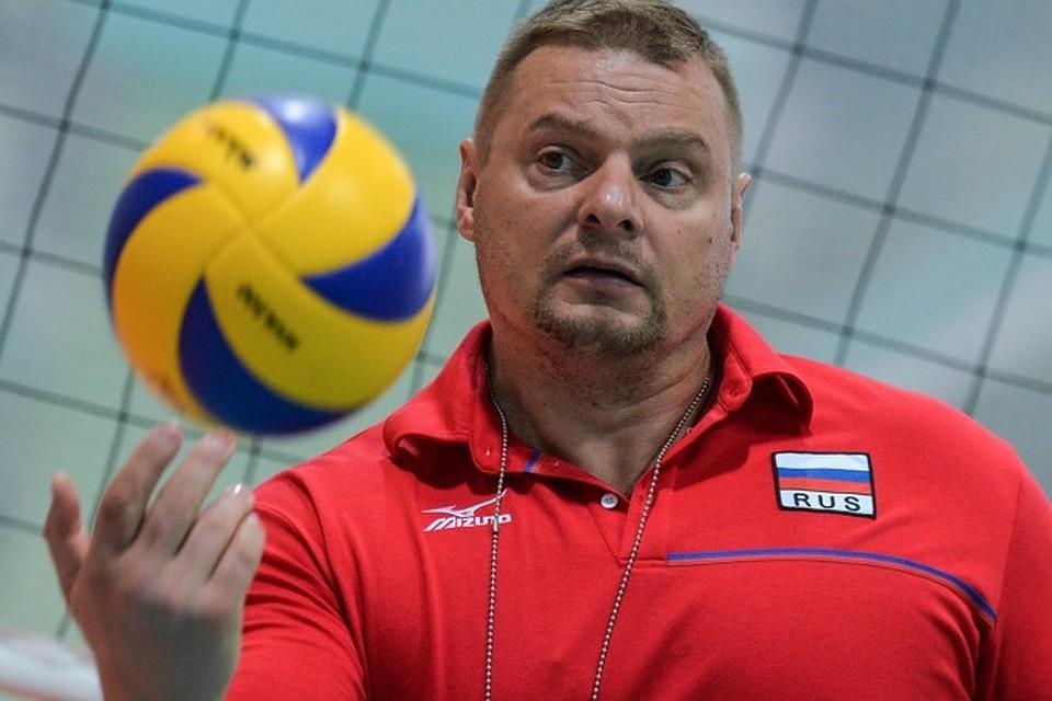 тренер по волейболу романенко фото том, что