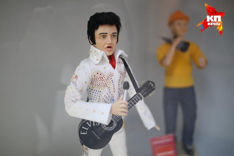 Выставка кукол открылась в торговом центре