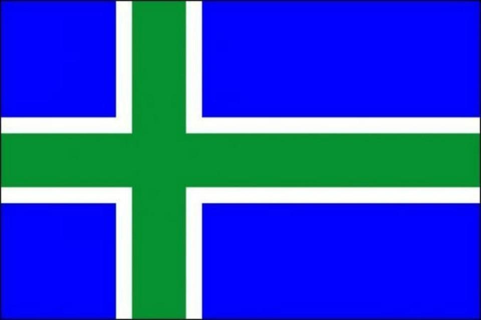 Активисты предлагают сменить флаг Коми: с трехполосного на флаг скандинавского типа.