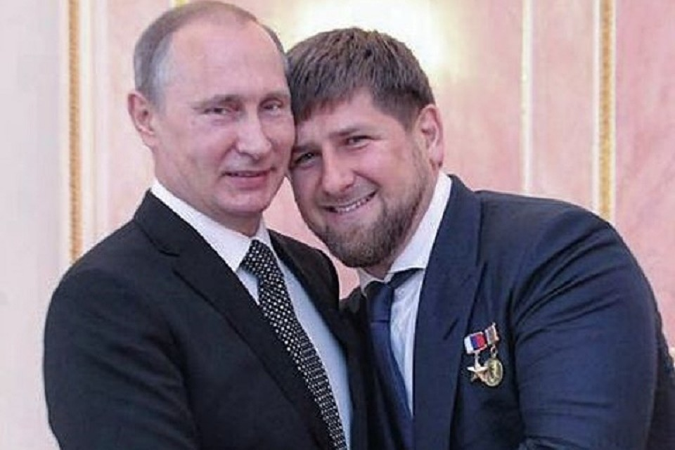 Image result for Путин и Кадыров фото