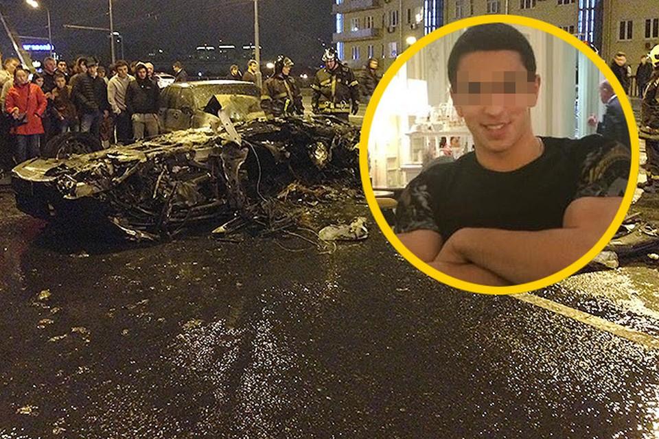 Водитель «Феррари», устроивший ДТП на Крымском мосту, оказался совершеннолетним