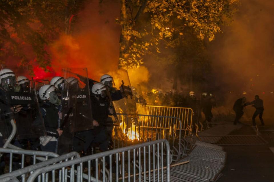 Черногория обвинила Москву в причастности к акциям протеста.
