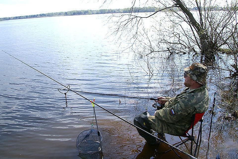 если водоем частный можно ловить рыбу