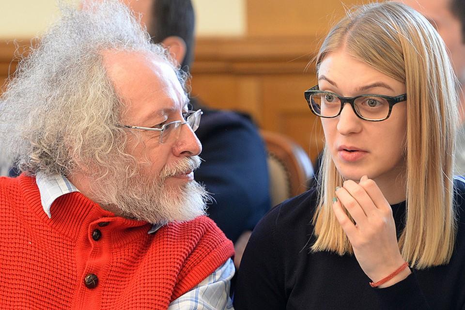 Алексей Венедиктов  о Лесе Рябцевой: Никогда эта девочка через секс не будет делать карьеру. В этом ее ценность для меня