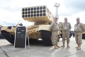 Россия в 2014 году продала оружия на 10,2 миллиарда долларов
