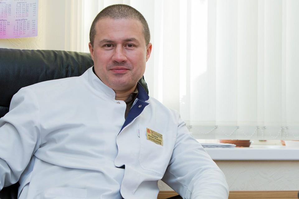 Доктор Михаил Еникеев, заведующий урологическим отделением клиники урологии Первого МГМУ.