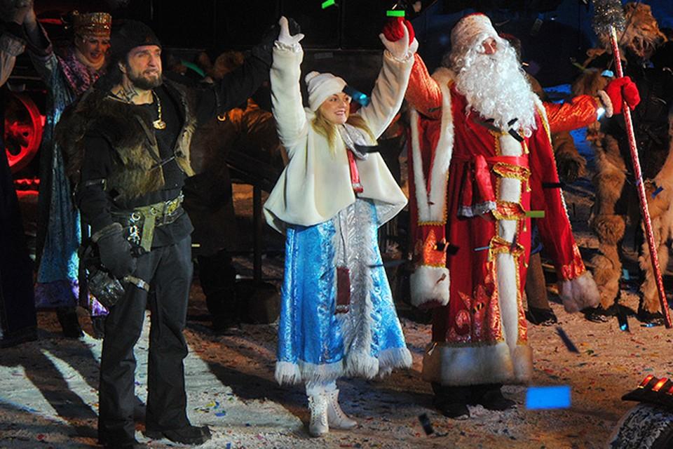 В байк-центре «Ночных волков» на Нижних Мневниках весь январь гремят традиционные байк-елки для детей и взрослых