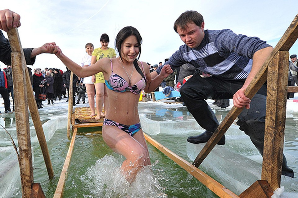 Крещение в Киргизии