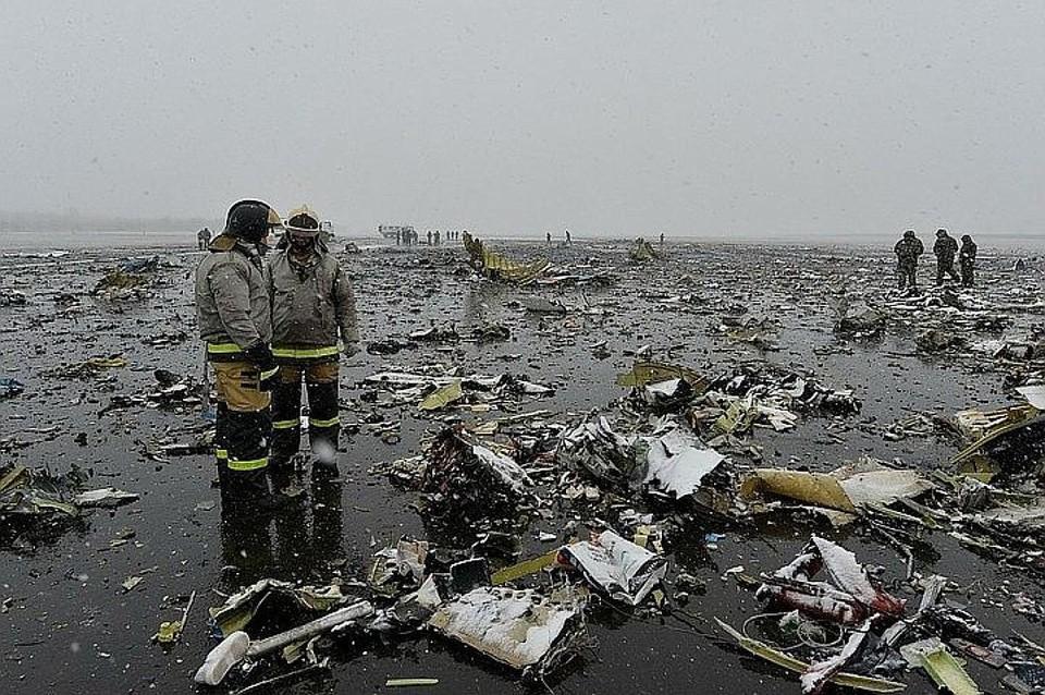 Пилот сам воткнул самолет в землю