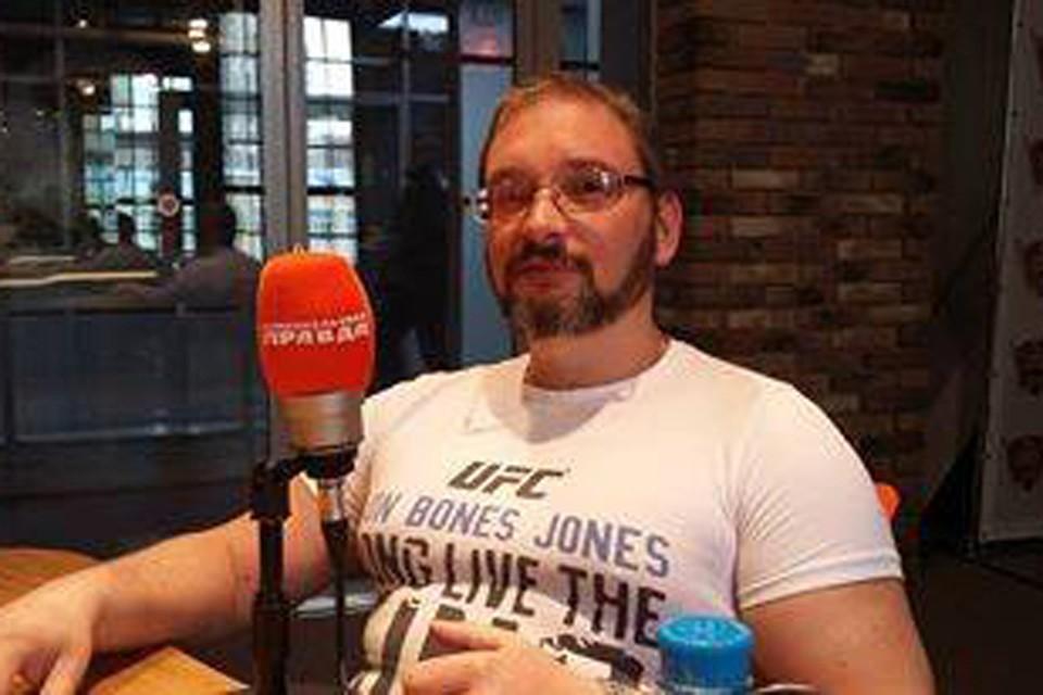 """Основатель магазинчика """"Грибное место"""" в гостях у программы «Важные птицы» на Радио «Комсомольская правда»."""