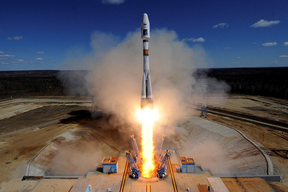 Ракета «Союз 2.1а» успешно вывела на орбиту три российских спутника