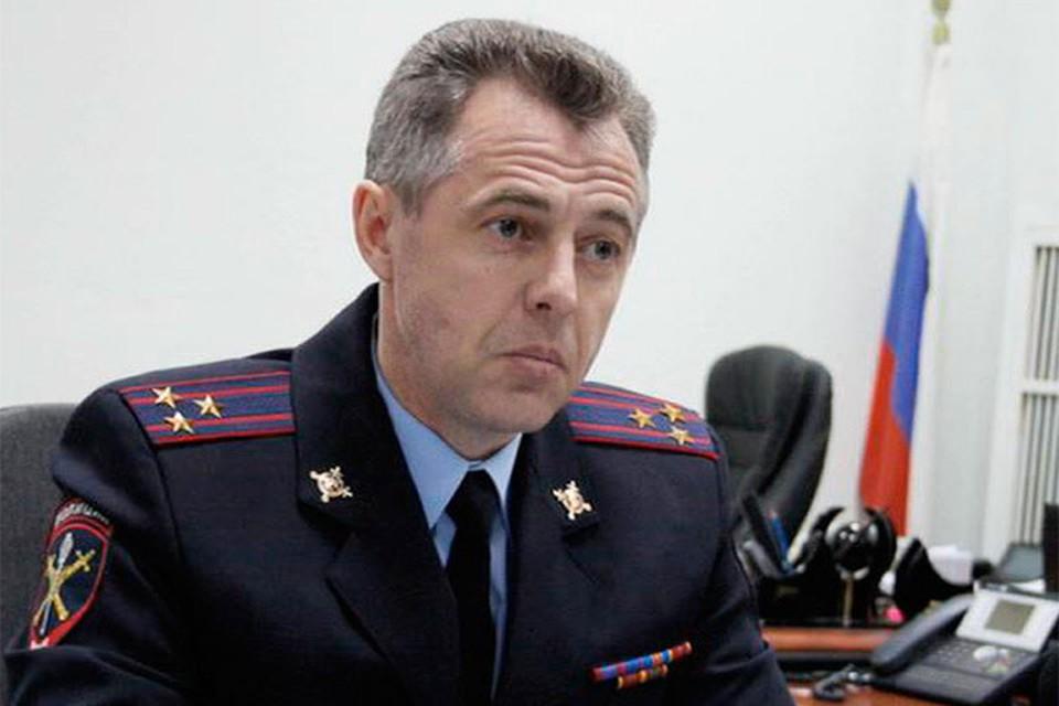 По делу об убийстве семьи полицейского Андрея Гошта (на фото) задержаны выходцы из Средней Азии. ФОТО: МВД