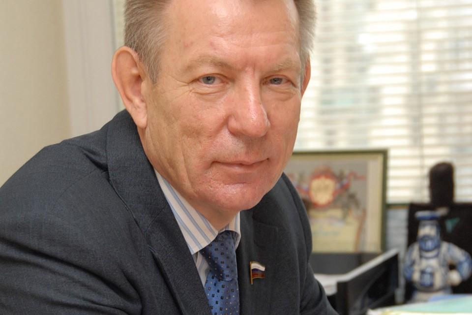 Первый заместитель председателя Комитета Госдумы по охране здоровья, академик Российской академии наук Николай Герасименко