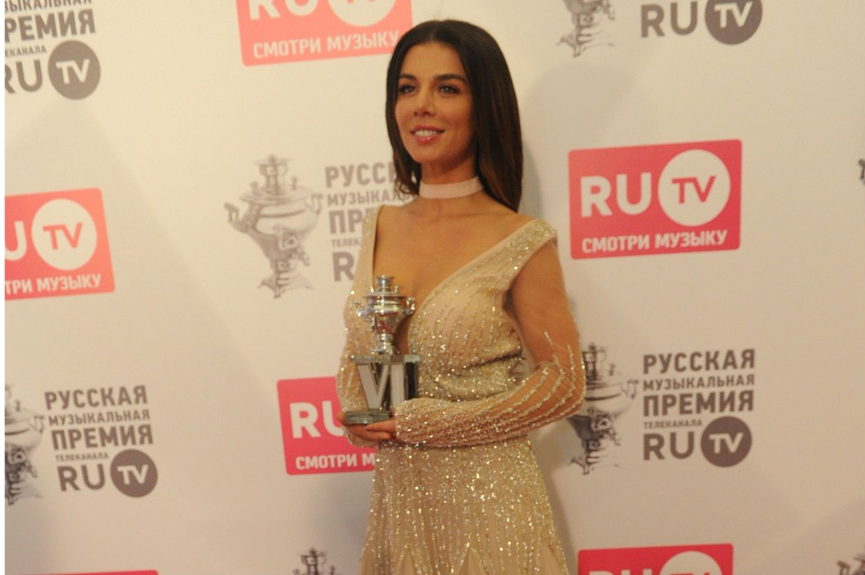 Анна Седокова стала победительницей в номинации «Самое сексуальное видео».