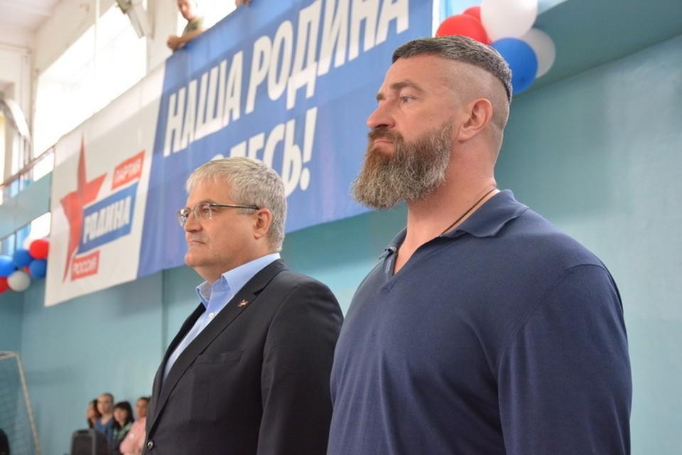 Вячеслава Илюхина и Сергея Бадюка объединил спорт.