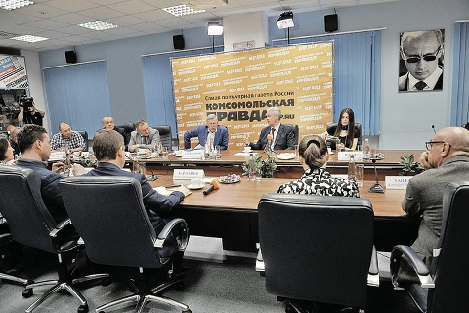 Сергей Собянин приходит в гости к «КП» не в первый раз. И всегда обстоятельно отвечает на острые вопросы.