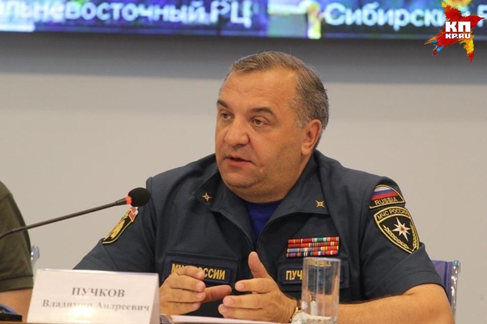 3 июля в Иркутск прибыл министр МЧС России Владимир Пучков