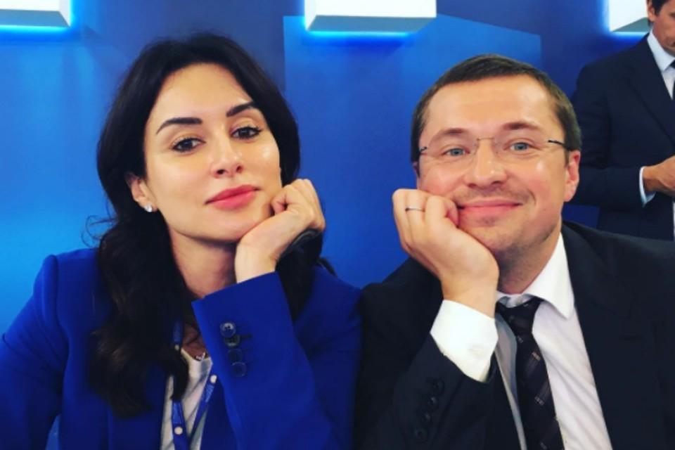 Тина с мужем Василием Бровко. Фото: Инстаграм.