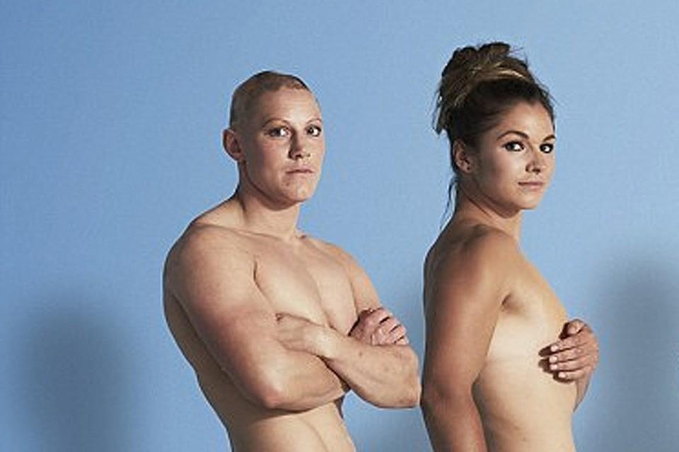 Британские регбистки снялись в откровенной фотосессии.ФОТО womеnshealthmаg.co.uk
