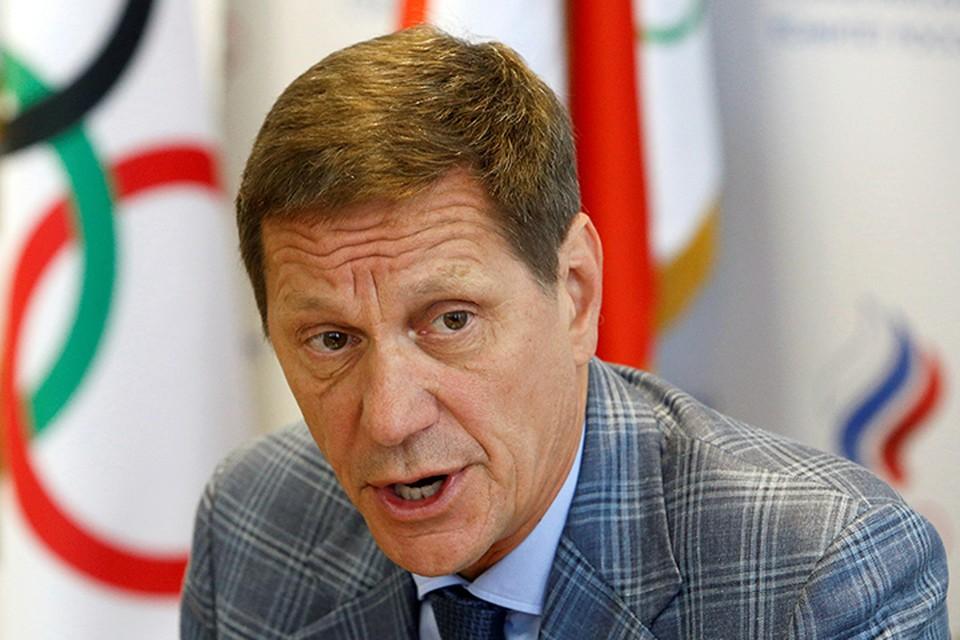Александр Жуков призывает не поддаваться тому беспрецедентному давлению, которое оказывается сейчас на все олимпийское движение
