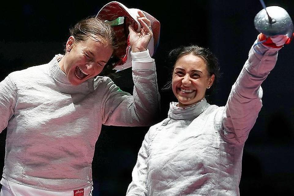 В финале за победу сражались Яна Егорян и Софья Великая.