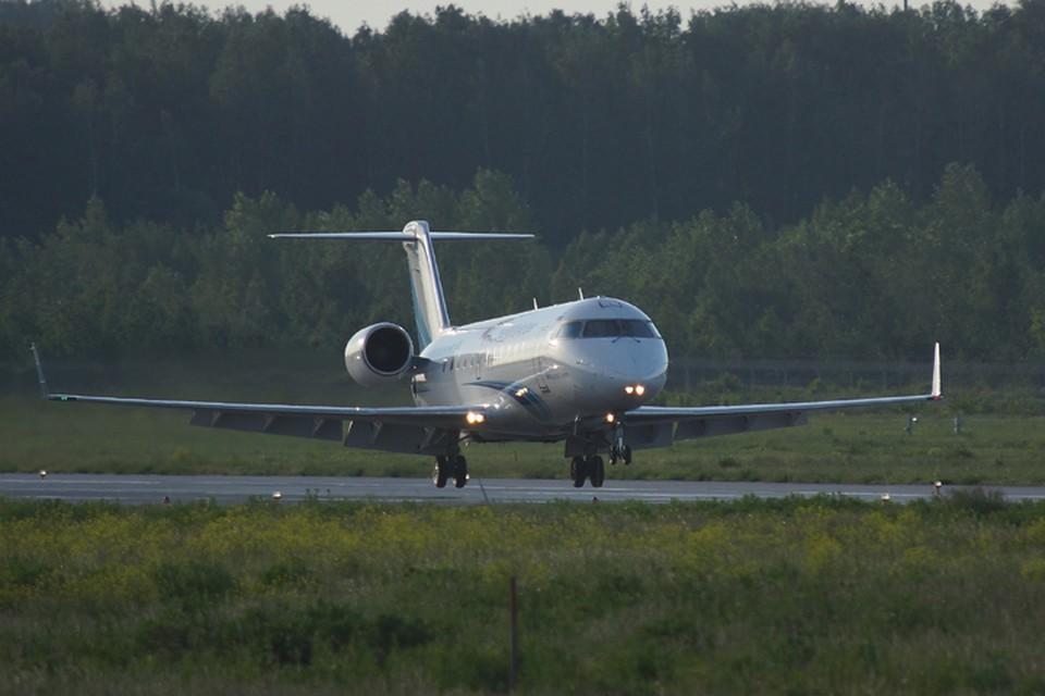 CRJ-100 совершил аварийную посадку в Воронеже
