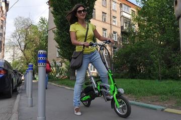 Прокат электровелосипеда будет стоить 150 рублей в сутки
