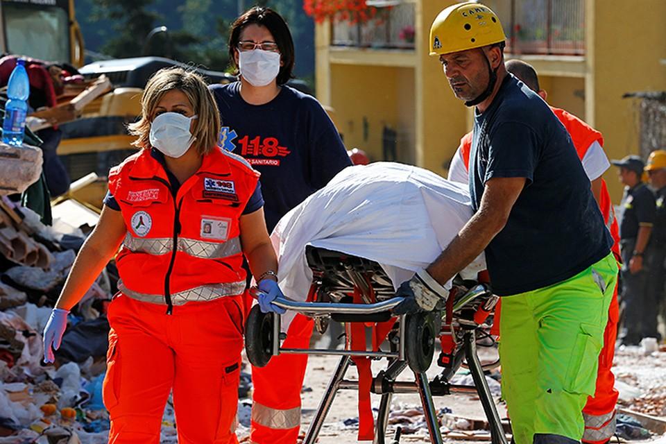 В результате толчков, особо пострадали города Аматрич, Аккумоли, Пескара-дель-Тронто и Аркуата