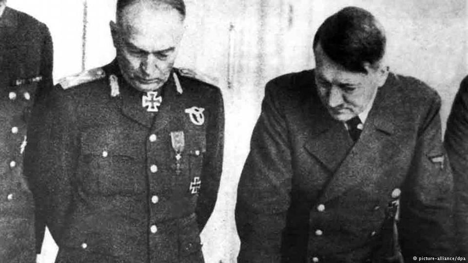 """Ион Антонеску, союзник Гитлера, представляется унионистскими кругами """"великим румынским национальным героем"""""""