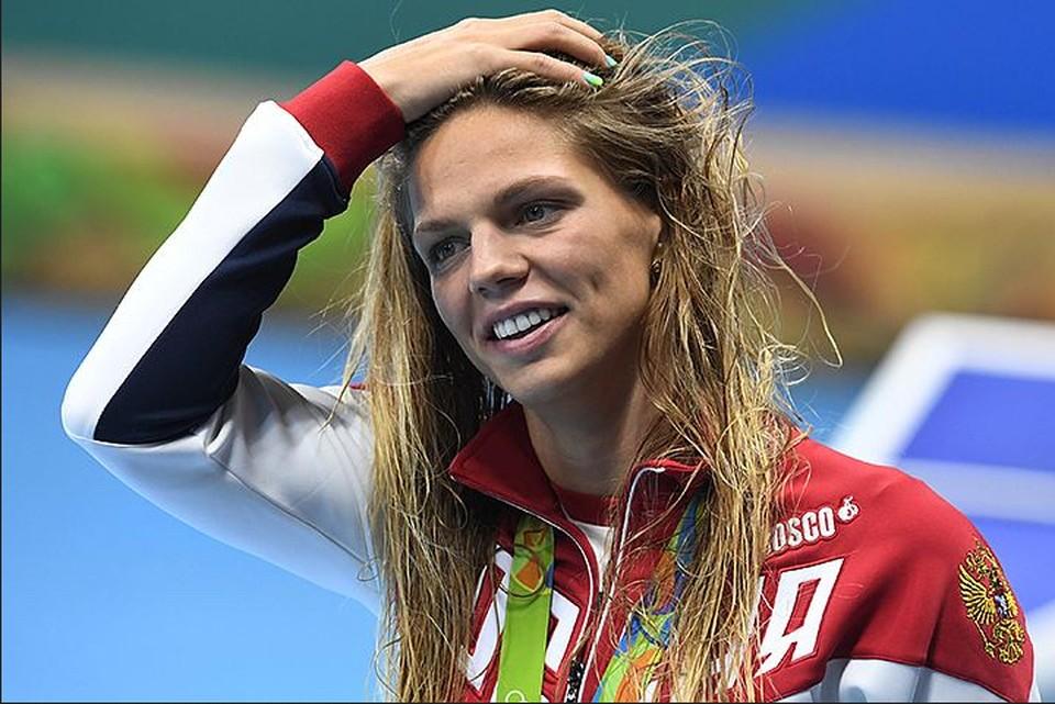 Юлия забрала заслуженный олимпийский подарок.