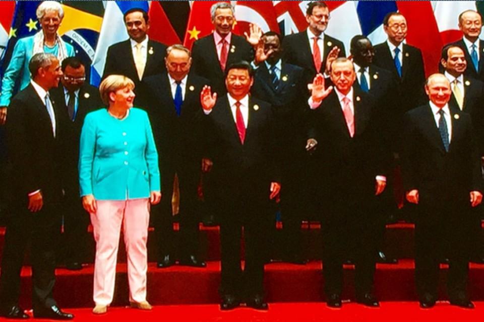 Путин и Обама не пожали друг другу руки на саммите G20 ФОТО: Кадр из видео