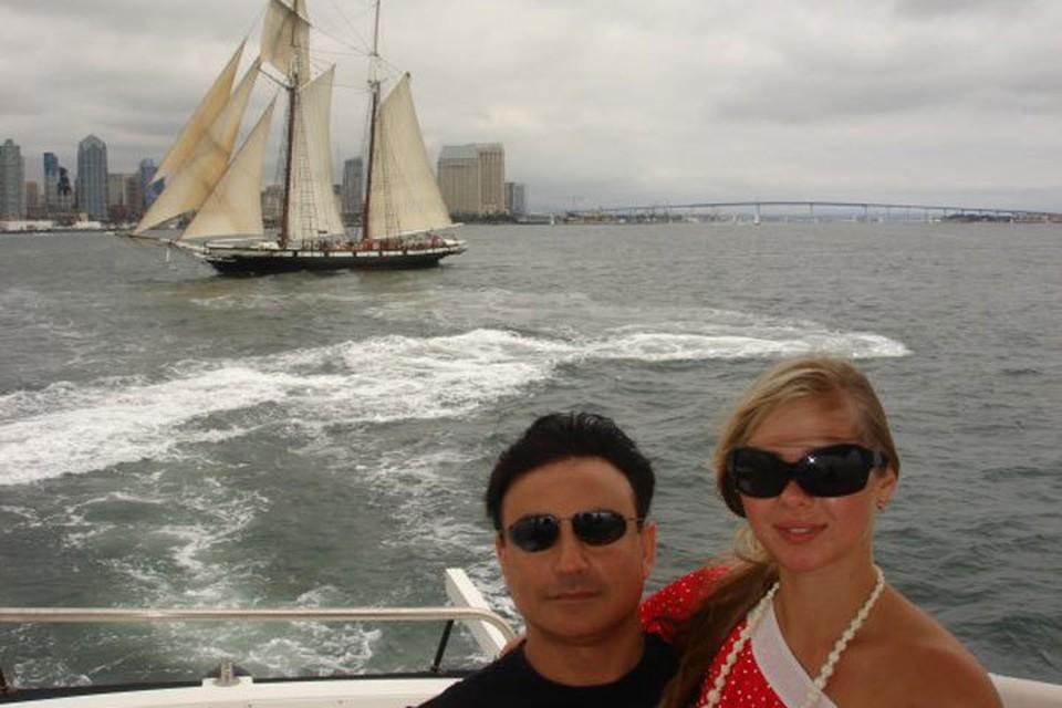 Марина и Майкл в Сан-Диего.
