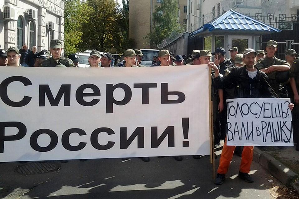 Русскую 40 летнюю толпой