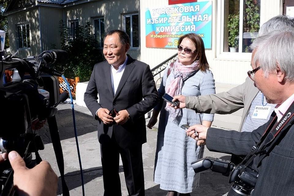 Избиратели Тувы выразили доверие Шолбану Кара-оолу почти единогласно. Фото: личная страница Шолбана Кара-оола в соцсети