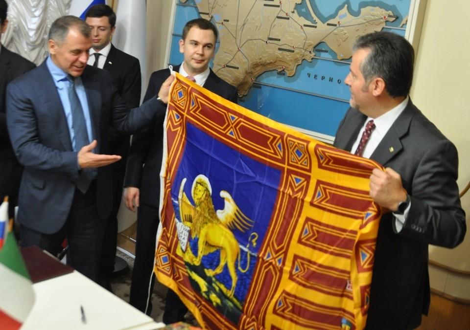 Итальянская делегация 14 октября находится с визитом в Симферополе