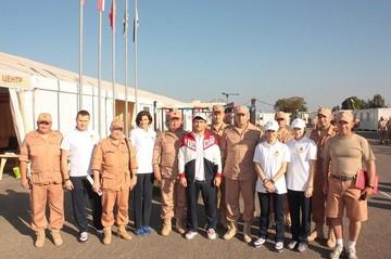 Олимпиец из КБР отправился в Сирию, чтобы поддержать российских военных