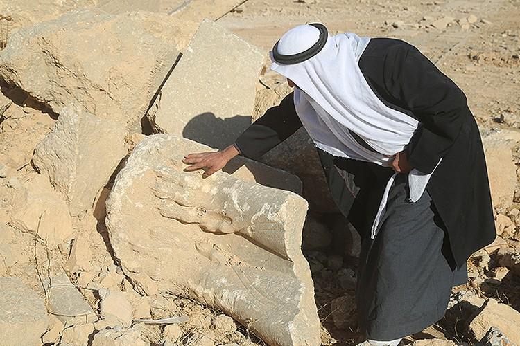 На развалинах древних построек Нимруда.