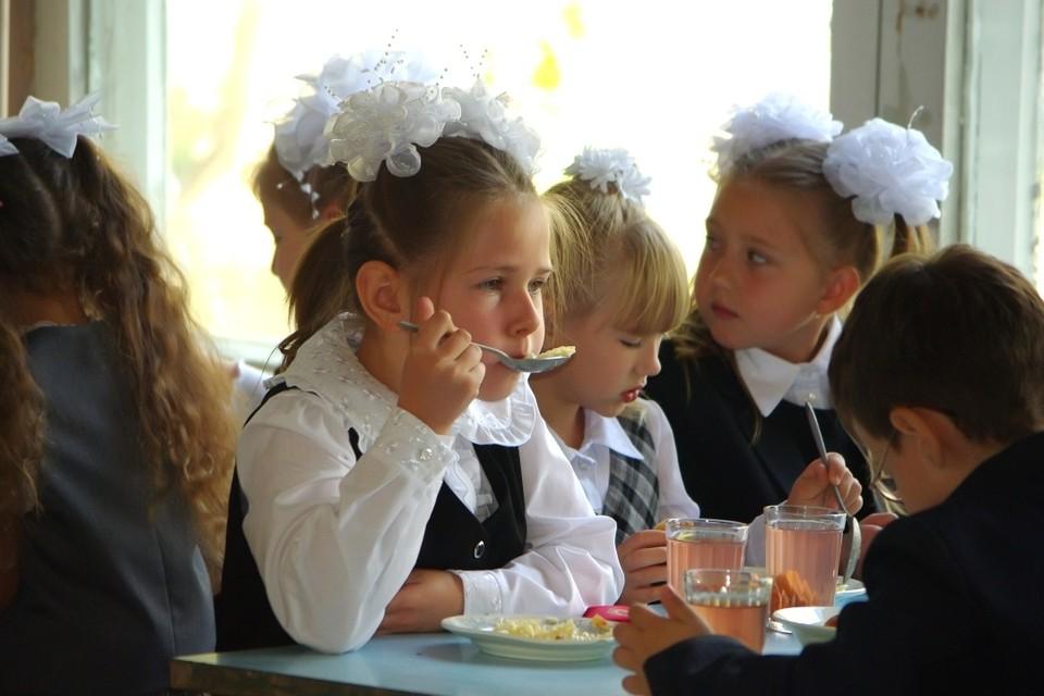 """После отравления обедом в школьной столовой самые """"тяжелые"""" дети госпитализированы, остальные отлеживаются дома."""