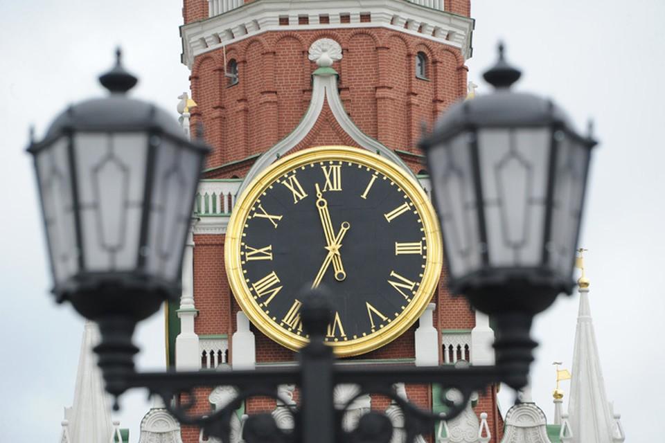 Кремлевским курантам 310 лет