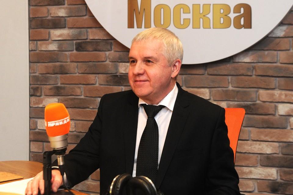 Заместитель руководителя Федерального агентства лесного хозяйства Михаил Клинов в гостях у Радио «Комсомольская правда»