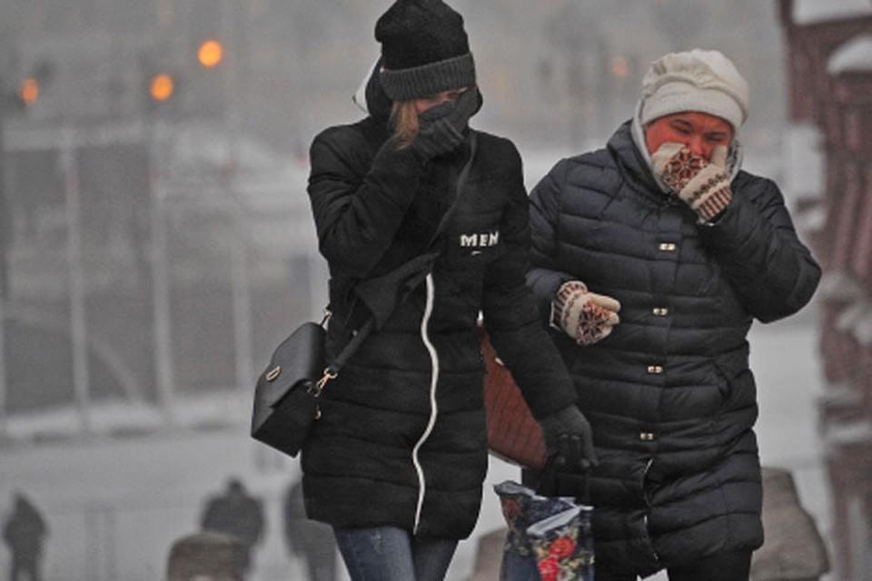 Закончится суровая зима не раньше середины марта.