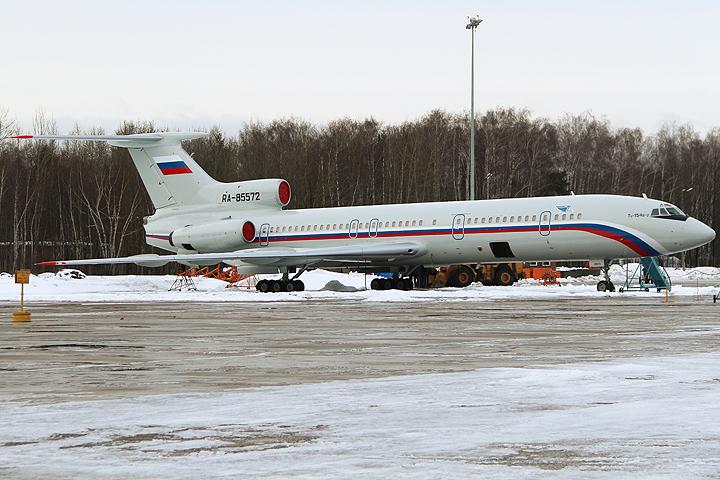 Разбившийся в Чёрном море самолет Ту-154 Минобороны РФ. ФОТО Архив/Дмитрий Петроченко/ТАСС