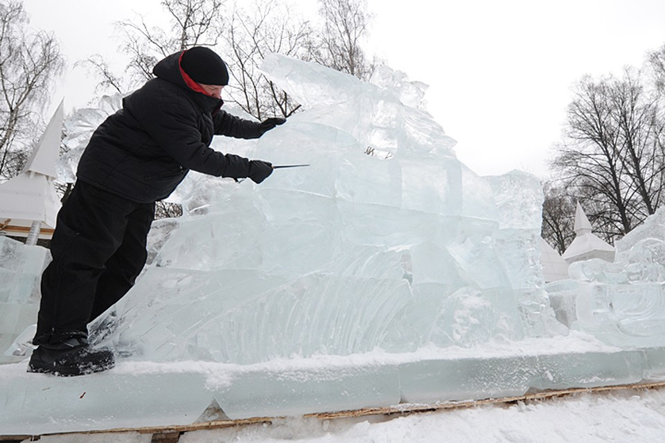 Ледяная галерея «Полярная звезда» открывается в Сокольниках