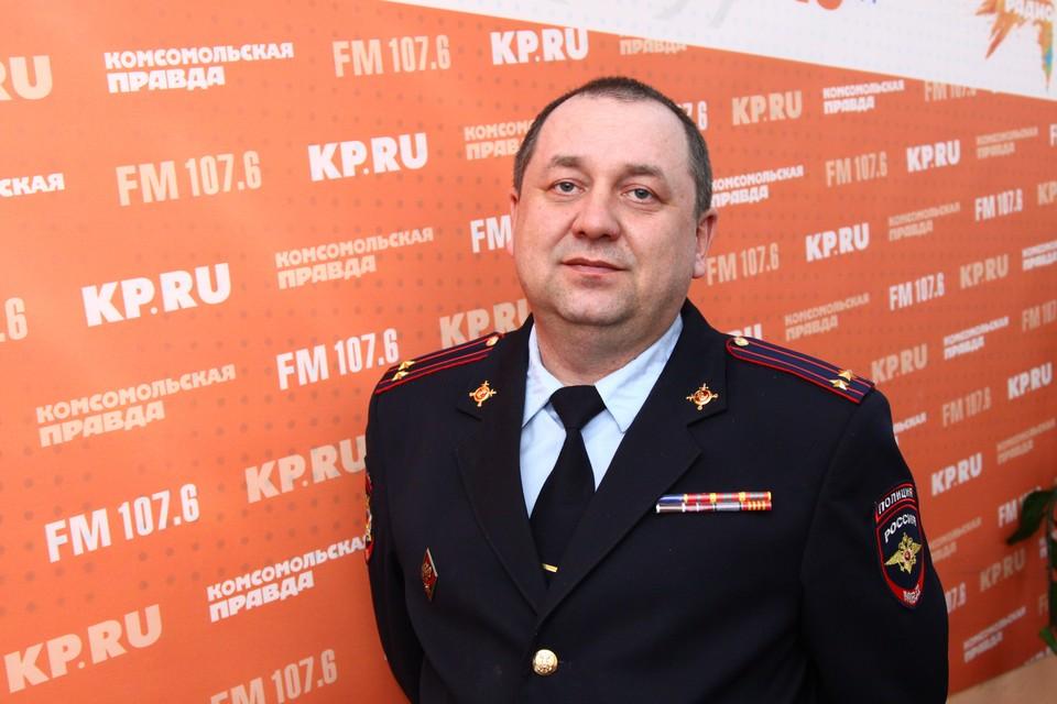 Заместитель начальника полиции УМВД России по Ижевску Алексей Бузанов